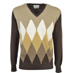Cashmere v Neck Sweater (¥34,650) ❤ liked on Polyvore featuring men's fashion, men's clothing, men's sweaters, brown, menclothingsweaters, mens vneck sweater, mens cashmere sweaters, mens v neck sweater, mens cashmere v neck sweater and mens brown v neck sweater