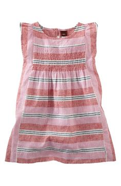 bcf5006d Tea Collection 'Jardin' Stripe Dress (Toddler Girls) available at  #Nordstrom Toddler