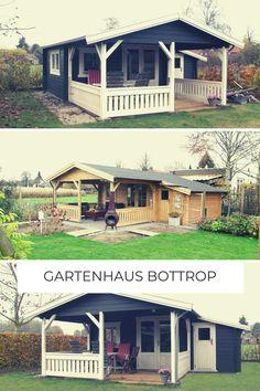 Ein großes Gartenhaus mit Terrasse gefällig? Hier ist die perfekte Lösung.   Mit dem Gartenhaus Bottrop von steda erfüllst du alle Vorstellungen für ein perfektes, angenehmes und wunderschönes Gartenhaus. 🏡   #gartenhaus #gartenhausrot #gartenhausgarten #garten #somussdas #steda