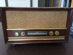 RARE-MARCONI-RADIO-MODEL-439-CANADIAN-1958-TESTED-WORKS-GREAT