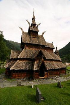 Norway (Borgund Stave Church)