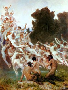 William-Adolphe+Bouguereau+-+Die+Oreaden