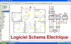 schemas electriques gratuit avec les plans de cablageraccordement branchement maison et industriel avec des installation electriques et circuit au norme - Realiser Son Installation Electrique Maison