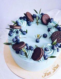 New Cupcakes Oreo Birthday Ideas Cake Cookies, Cupcake Cakes, Cat Cakes, Cake Fondant, Dessert Design, Cake Recipes, Dessert Recipes, Fun Buns, Drip Cakes