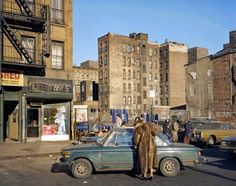 vintage everyday: Pictures of Lower East Side of New York City in 1980 East 4th Street between the Bowery and Second Avenue, 1980 © Brian Rose/Ed Fausty