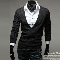 Double Breasted Cardigan from #YesStyle <3 WIZIKOREA YesStyle.com