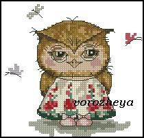 Sovushka of enchantment, embroidery. Discussion on LiveInternet - Russian Service Online Diaries