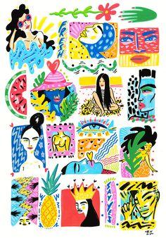 'Thumbprint Personalities' Lynnie Zulu