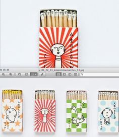 Kokeshi Matches.   12 Of The Best Package Designs