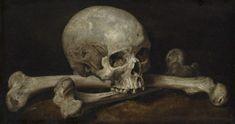Philips Gijsels - Memento Mori. Memento Mori, Vanitas Paintings, Art Paintings, Rick Stevens, Black Sails, Tikal, India Ink, Classical Art, Skull And Crossbones