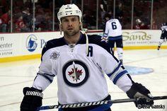 Mark Stuart of the Winnipeg Jets.