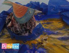 Ο μύθος της Αλκυόνης και του Κύηκα και μια νέα κατασκευή - Elniplex Painting, Painting Art, Paintings, Painted Canvas, Drawings