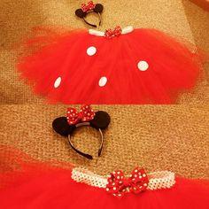 Just finished my #halloweencostume  #minniemouse #tutu #mouseears #disneycostumes #minniemousecostume #trickortreat #happyhalloween