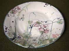 2013 Argilla France. International pottery fair. Earthenware. Plate