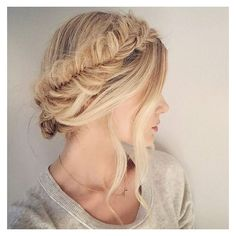 100 of the Best Braided Hairstyles You Haven't Pinned Yet ❤ liked on Polyvore featuring accessories and hair accessories