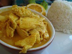 Chicken Yellow Curry from Original Thai BBQ Reseda, CA