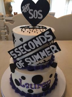 Five Seconds of Summer Cake