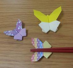 Butterfly chopstick többi | origami szórakozás