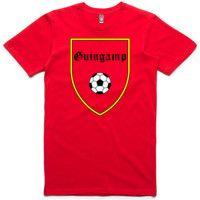 Guingamp Retro T-Shirt Retro, Mens Tops, T Shirt, Products, Fashion, Moda, Tee, Rustic, Fasion