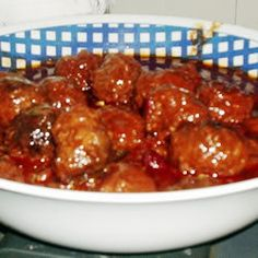 Recipe for Crockpot Sweet and Sour Meatballs
