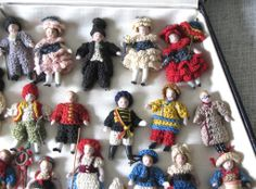 Fabulous Box Filled with 25 Carl Horn Dolls