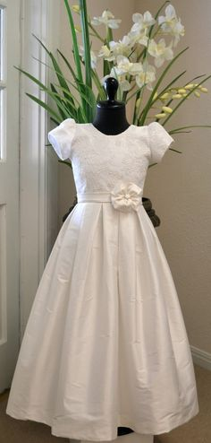 First Communion Dress Holy First Communion by CouturesbyLaura