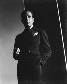 Humphrey Bogart, 1930s. One of the coolest guys ever.