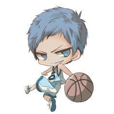 Kuroko no Basket ~~ Chibi Aomine