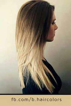 Sombre, trying to get my hair this colour.....
