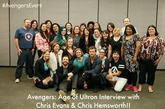 ***EXCLUSIVE*** #Avengers Interview with Chris Evans and Chris Hemsworth!!  #AvengersEvent #AgeofUltron     http://africasblog.com/2015/04/23/avengers-interview-evans-hemsworth-avengersevent/