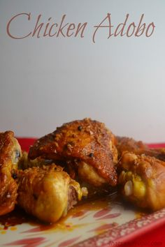Love how easy this Chicken Adobo recipe is, and that it uses cheap ingredients!