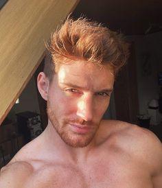 Hot Ginger Men, Ginger Guys, World Handsome Man, Red Hair Trends, Danish Men, Red Hair Men, Redhead Men, Poses For Men, Couple Aesthetic