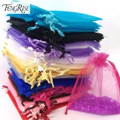 Cheap wedding favors, Buy Quality party decoration directly from China craft supplies Suppliers: FENGRISE Jewelry Gift Organza Bags Wedding Favors Candy Pouches Home Party Decoration Crafts Pack Festive Supplies Candy Wedding Favors, Wedding Favor Bags, Wedding Favors Cheap, Party Favors, Party Candy, Wedding Gifts, Birthday Party Decorations, Wedding Decorations, Decoration Party