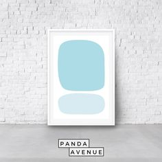 #Blue #Geometric #PRINTABLE #wallart #digitadownload #art #Abstract #MidCentury #HomeDecor #MidCenturyModern #WallDecor #WallPrints Blue Abstract, Abstract Wall Art, Blue Artwork, International Paper Sizes, Modern Wall Art, Geometric Art, Printable Wall Art, Online Printing, Prints