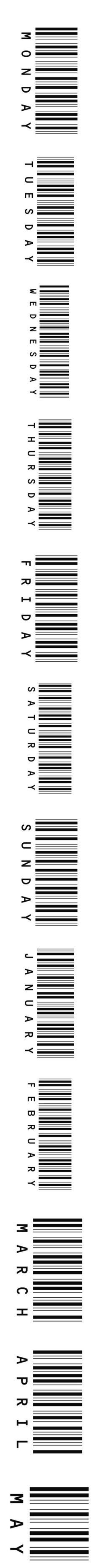 """""""Text Barcodes"""" by meowshoe ❤ liked on Polyvore featuring text, fillers, backgrounds, barcodes, quotes, phrase, saying, magazine, words and headline"""