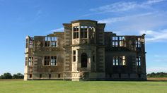 The National Trust's Lyveden New Bield, Northamptonshire, is an incomplete Elizabethan lodge and moated garden.