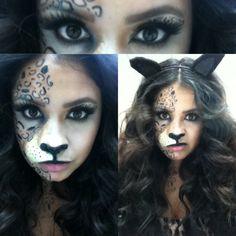 Cheetah Makeup/ Halloween Makeup/ Facepaint/ Cheetah Prosthetic SFX prosthetics and accessories Cheetah Makeup, Fox Makeup, Special Effects, Body Painting, Deer, Masks, Halloween Face Makeup, Make Up, Fancy