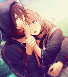 They look like Ymir & Krista lol. I'm not sure who they really are tho. Yumikuri | Attack on Titan | Shingeki no Kyojin