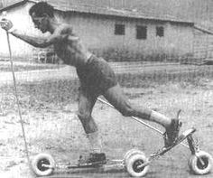 Roller Ski #FaçaAdiferença #ProjetoSocialSkinaRua www.AngelFans.com.br