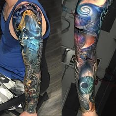 Great sleeve with just the right amount of color.