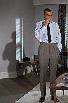 Sean Connery as James Bond in Dr. No, 1962.