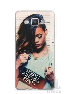 Capa Capinha Samsung A7 2015 Rihanna #2 - SmartCases - Acessórios para celulares e tablets :)
