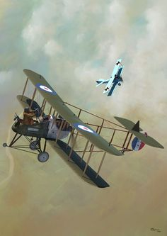 Airco DH 2 by Jerry Boucher                                                                                                                                                                                 More