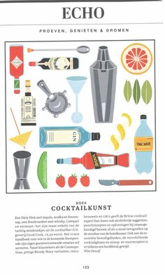 Gezien in de feestspecial: KnackWeekend mixt deze eindejaarsperiode de drankjes met behulp van 'De Cocktailbar' van uitgeverij Good Cook. ISBN 9789461431295