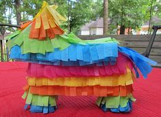 DIY Pinata Table Decoration | AllFreePaperCrafts.com