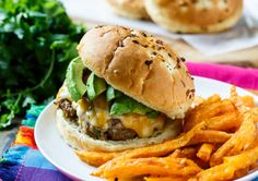 Chipotle Pork Burgers