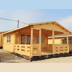 Domek drewniany (Wooden house) Olga  17,5 m2