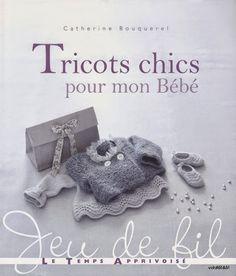 has knitting instructions in french Knitting Books, Crochet Books, Knitting For Kids, Baby Knitting Patterns, Crochet For Kids, Magazine Crochet, Knitting Magazine, Crochet Bebe, Knit Crochet