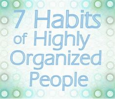 is it too late to start being organized? organizing