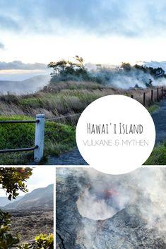 Auf Hawai'i Island kann man dabei zusehen, wie Naturgewalten die Erde verändern. Laut der Mythologie Hawaiis ist in den Vulkanen der größten Insel des Archipels die Göttin Pele am Werk. Ein Reisebericht mit Tipps für Big Island, die größte Insel des Hawaii-Archipels. Hawaii Vacation, Hawaii Travel, Vacation Trips, Kauai, Travel With Kids, Family Travel, Bucketlist Ideas, Hawaii Things To Do, Polynesian Islands